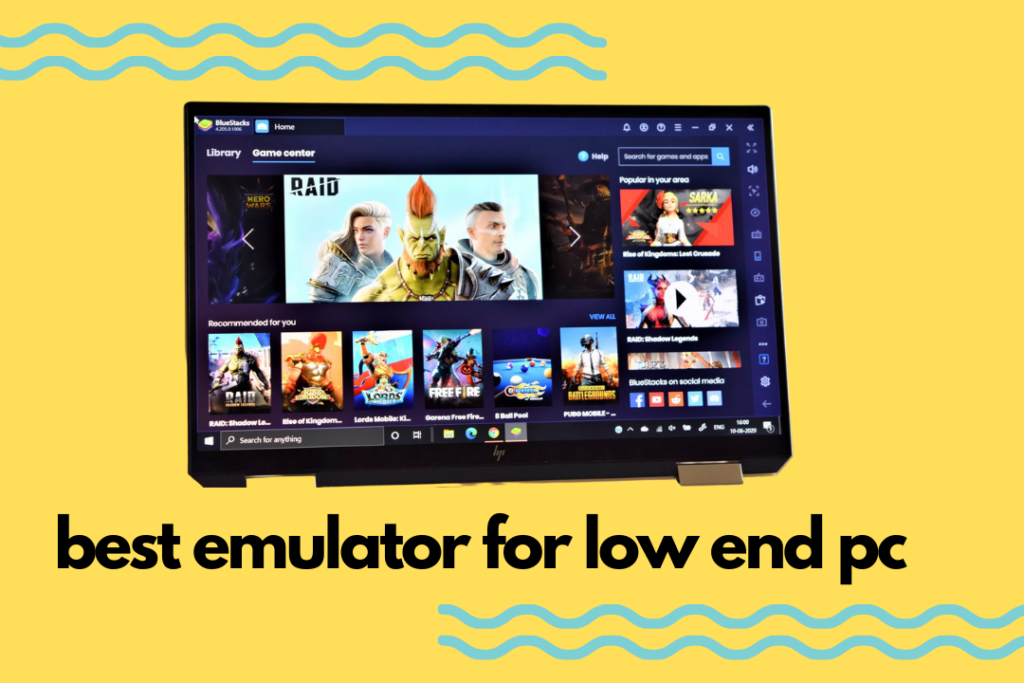 Best Emulator For Low End PC In 2021